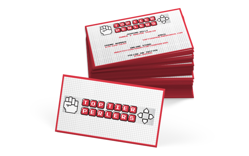 inner geek designs business card print design top teir perlers